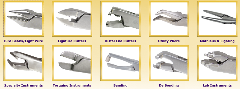 pinces orthodontiques orthodontic pliers orthopli