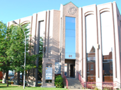 Le 91 Peel, bureau des orthodontistes Lemay, sur le plateau Marquette à Sherbrooke