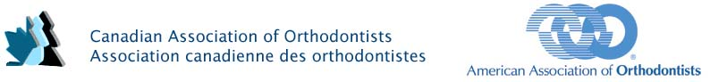 Canadian Association of Orthodontists and AAO logo