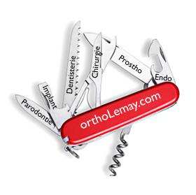 L'orthodontie peut nécessiter des interventions dans les autres disciplines ou spécialités dentaires.