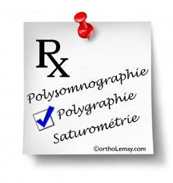 Une ordonnance ou prescription médicale est nécessaire pour passer un test du sommeil et envisager un CPAP ou une orthèse d'avancée mandibulaire