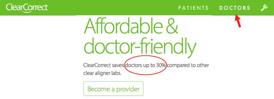Rabais de 30% pour un traitement d'orthodontie avec ClearCorrect