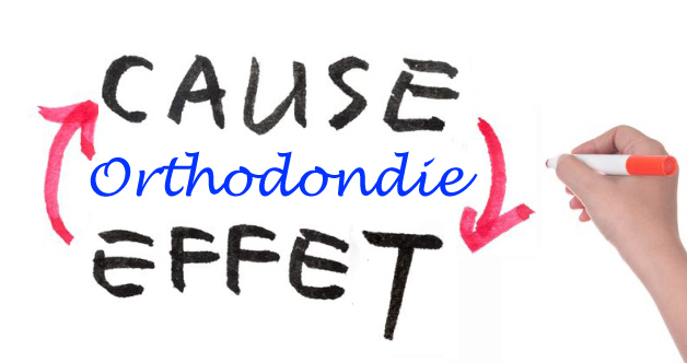 Relation de cause à effet en orthodontie,pas toujours évident!
